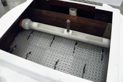 CVF rotary pipe skimmer