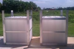 Coalescing tubes