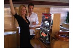 Lindsay hits jackpot on Envision's slot machine