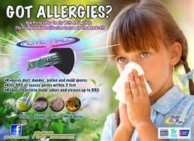 got allergies? flyer