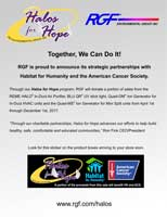 Halos for Hope Flyer