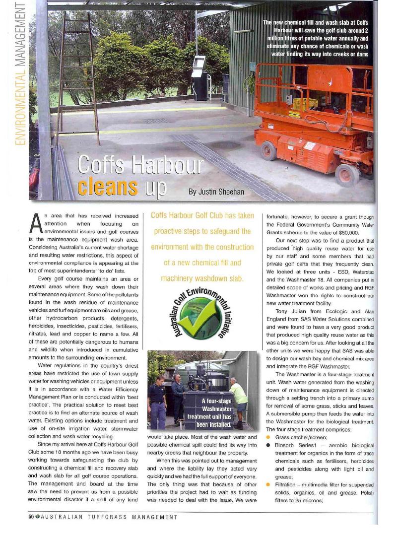 Coffs Harbour article