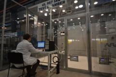 High tech air test chamber