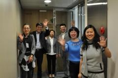 China waving