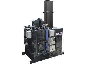 Thermo-Oxidizer:  Dry Chamber Flash Evaporation System