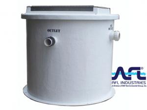 CVF oil water separator