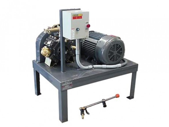 HIgh pressure demucking pump