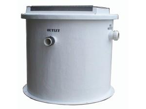 FLUSH – CVF – Cylindrical Vertical Fiberglass Oil Water Separator