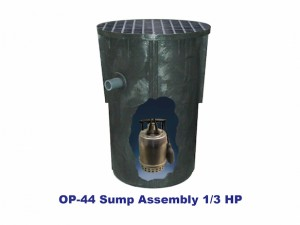Standard Processing Sump