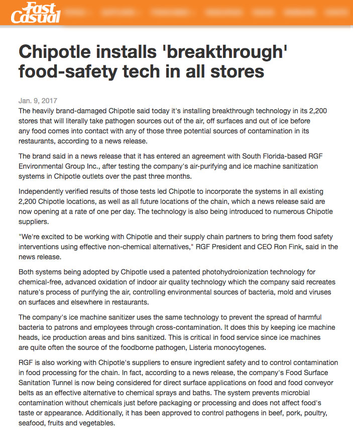 Fast Casual Jan 9 2017 - Chipotle