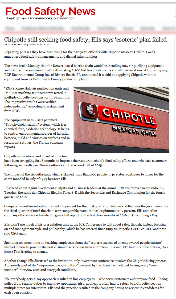 Food Safety News Jan 12 2017 - Chipotle