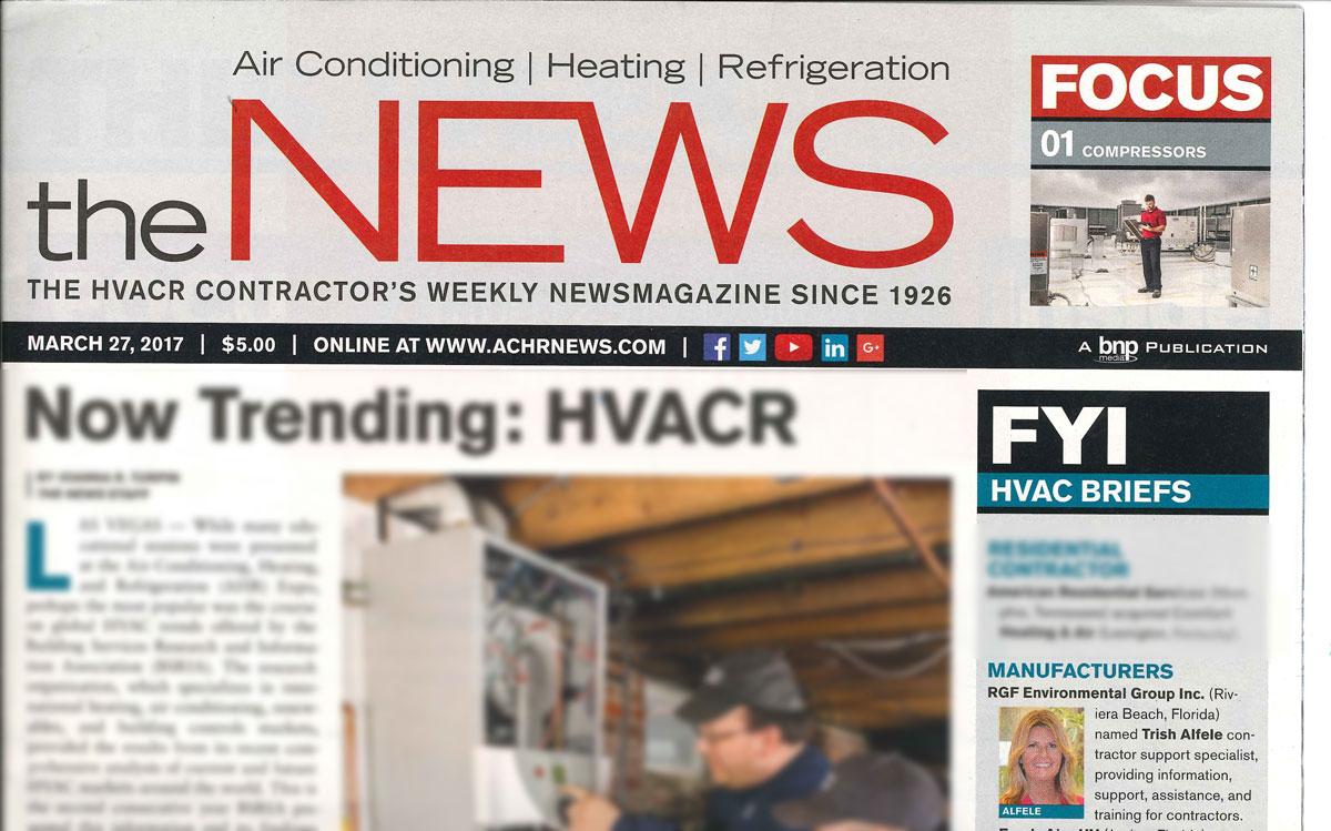 the NEWS, March 2017 - HVAC BRIEFS