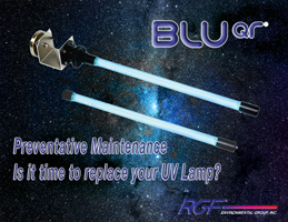 BLU QR Lamp replacement reminder