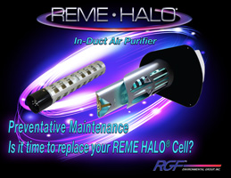 REME HALO Cell replacement reminder
