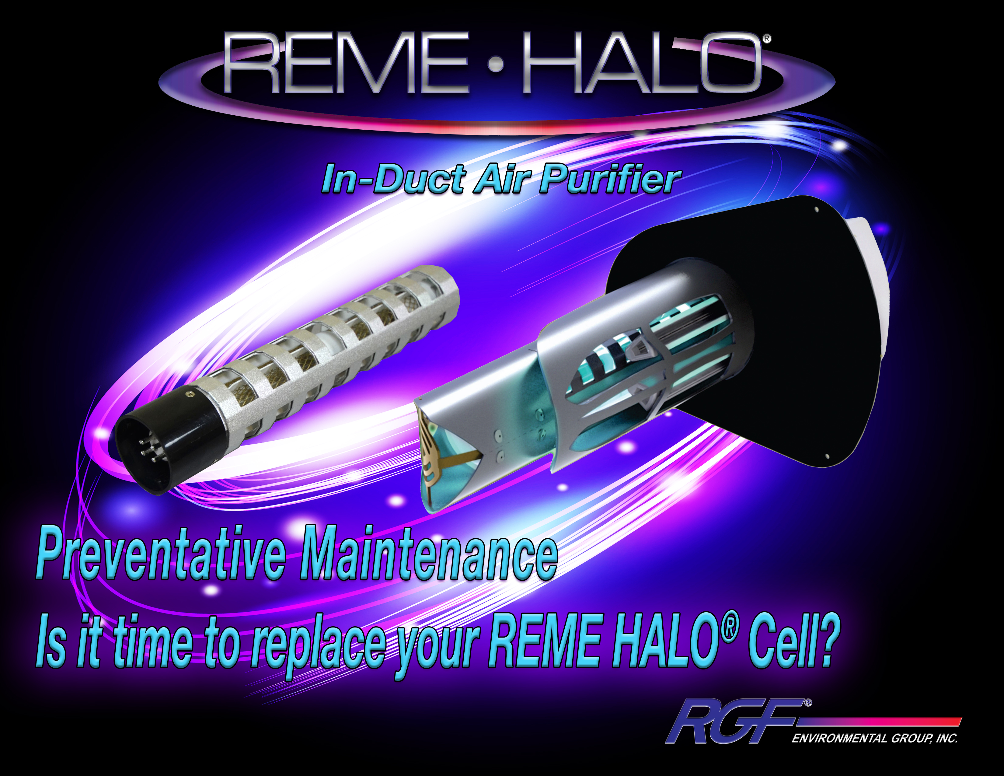 Reme Halo Cell Replacement Rgf