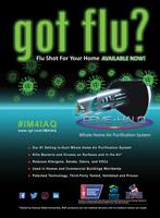 got flu? Bullet point flyer