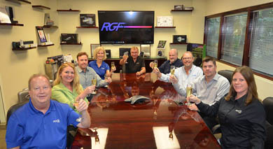 RGF® Celebrates Outstanding Growth