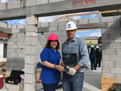 Habitat for Humanity CEO Build