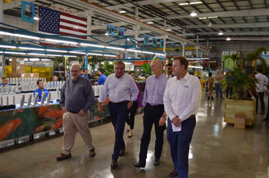 Governor Rick Scott visited RGF®