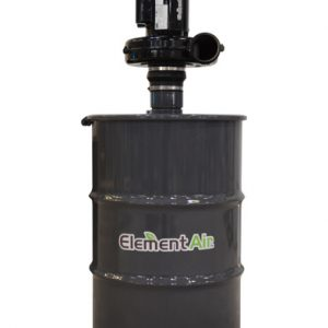 Carbon Drum with blower