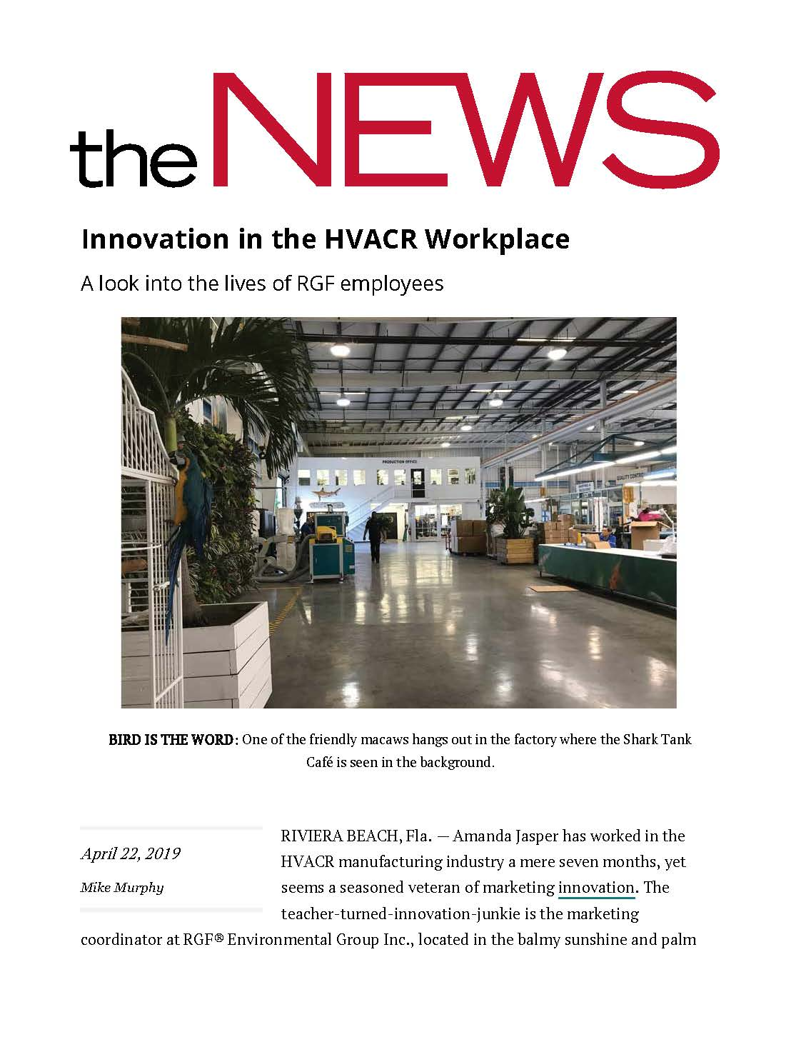 Innovation in the HVACR Workplace ACHR News