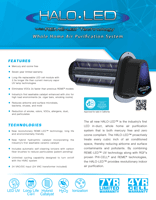 HALO LED Spec sheet cover