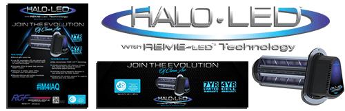 HALO LED marketing material