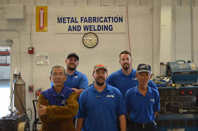 RGF recognizes National Welding Month