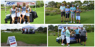 RGF Best Shot Tent at the SFACA Golf Tournament