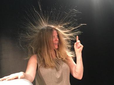 Hair-raising demonstrations