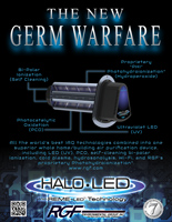 Germ Warfare HALO LED Flyer