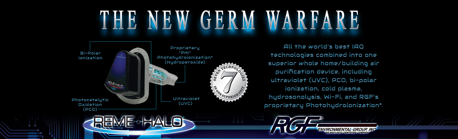 REME HALO Germ Warfare slider